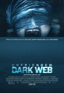 Unfriended 2 Poster 208x300 - Blumhouse's UNFRIENDED: DARK WEB Gets Trailer, Poster, and Release Date!