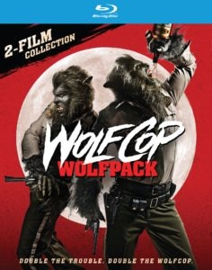 Wolfcop 2 Pack 236x300 - WOLFCOP and ANOTHER WOLFCOP Blu-ray Combo Pack Announced!
