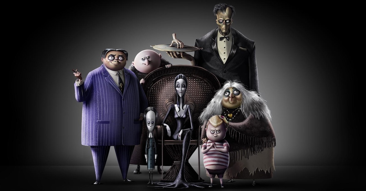 'The Addams Family' First Image Released, All-Star Voice Cast Announced