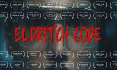 eldricitch code2 1 400x240 - Watch Now: Official Comic Book Adaptation ELDRITCH CODE Spreads Lovecraftian Chills