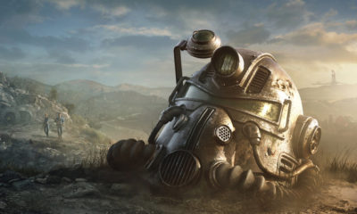 fallout 76 power armor helmet 1 400x240 - Bethesda Donating FALLOUT 76 Song Proceeds To Charity