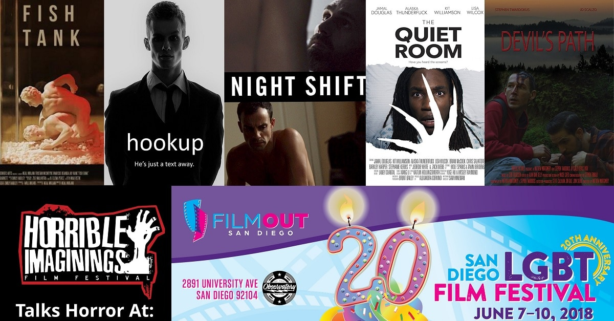 horror at filmout - Horrible Imaginings Podcast 188: Celebrate Pride with LGBTQ Horror Filmmakers!