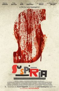 suspiriapayoffposter 195x300 - SUSPIRIA Remake Rated R For Ritualistic Violence, Graphic Nudity, and More