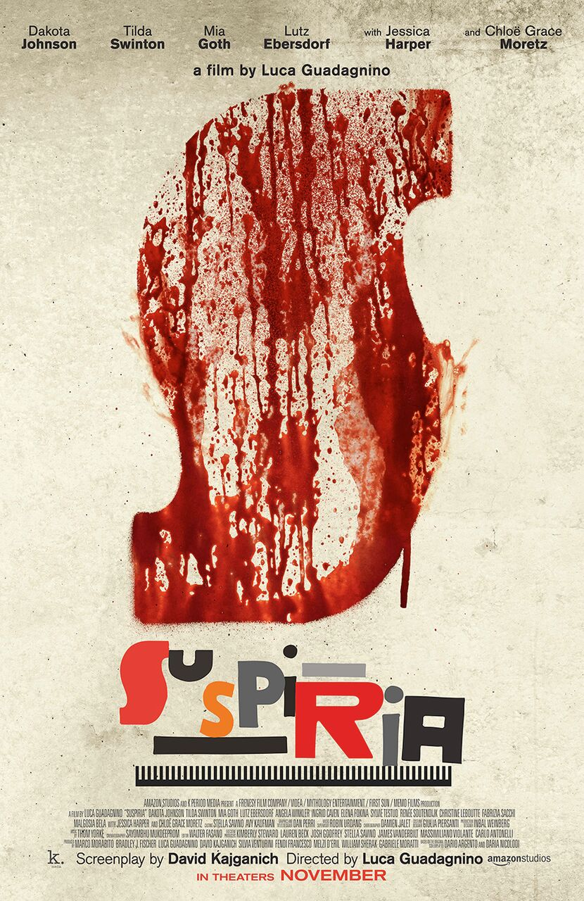 suspiriapayoffposter - Jonathan Barkan's Best Horror Films of 2018