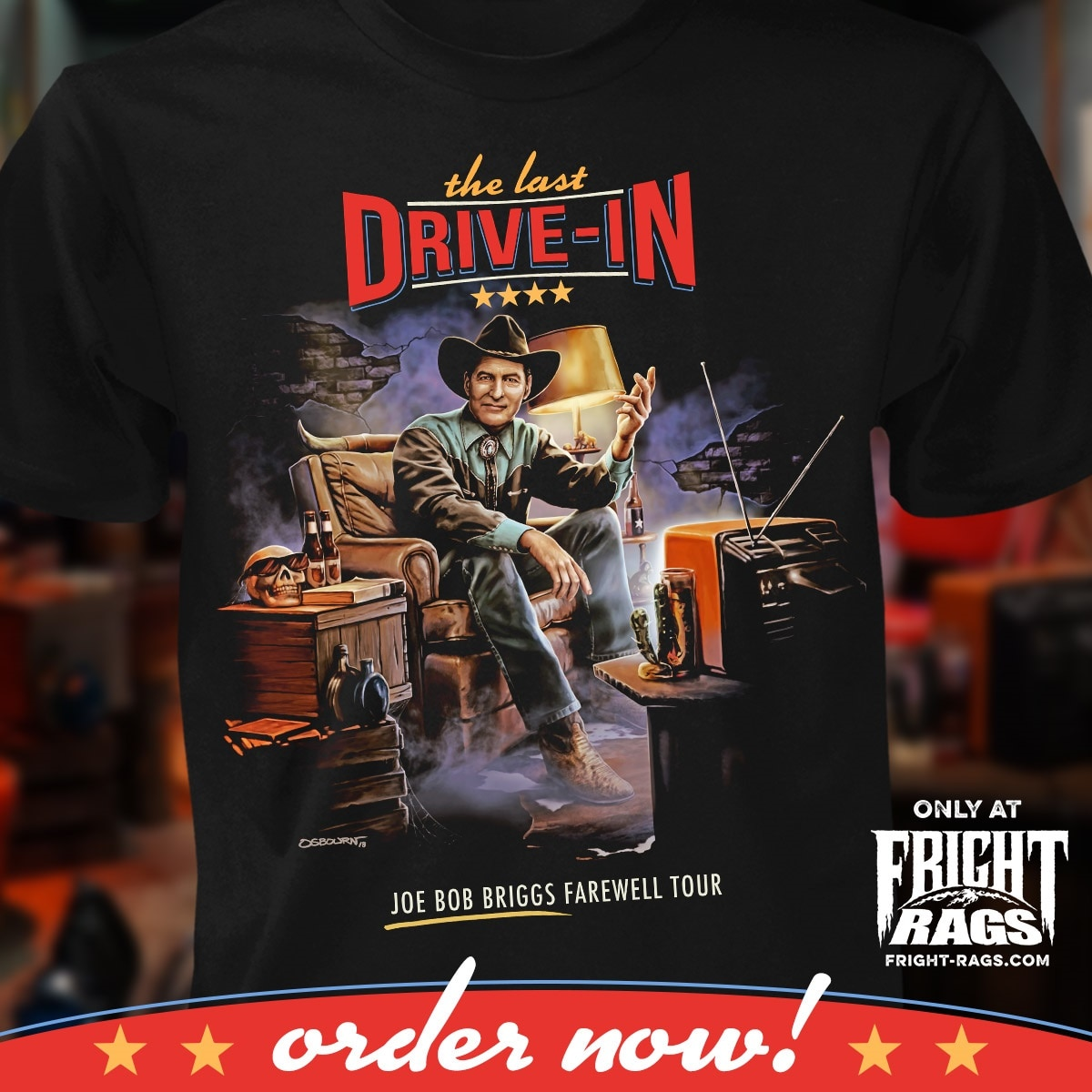 2515bef5f04 Fright-Rags  latest apparel comes from two bona fide classics that  transcend the genre – An American Werewolf in London and The Texas Chainsaw  Massacre ...