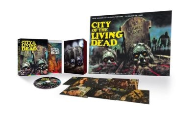 Arrow Lucio Fulci 400x240 - CITY OF THE LIVING DEAD 4K Blu-ray Coming this October