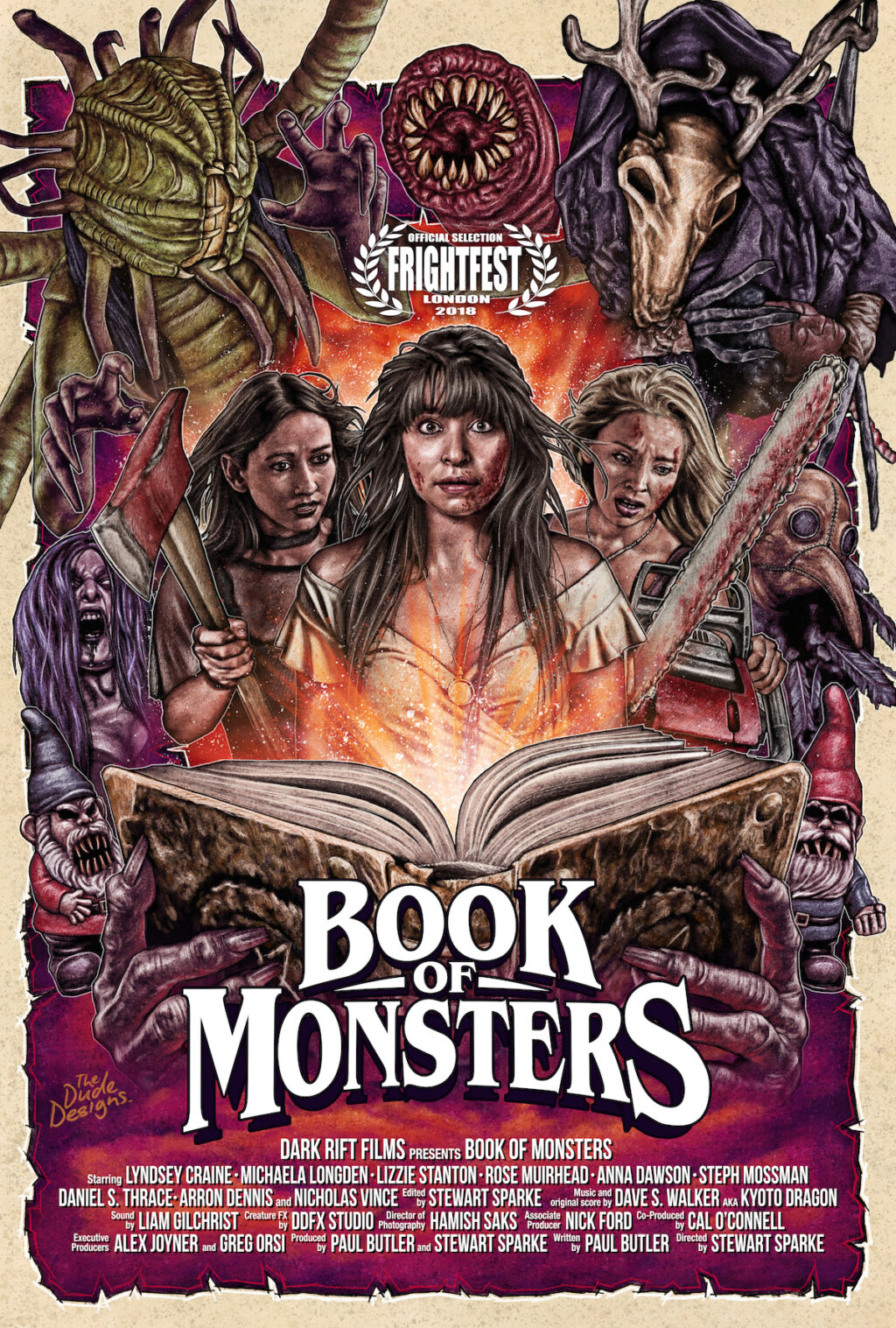 Book of Monsters Poster Laurel 1024x1517 - DREAD Presents: See Abigail Jill Harding's Fantastic BOOK OF MONSTERS Monster Concept Art