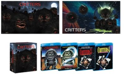 CrittersCollection.BeautyShot.72dpi 1 400x240 - Scream Factory's CRITTERS Collection Hits Blu-ray this November