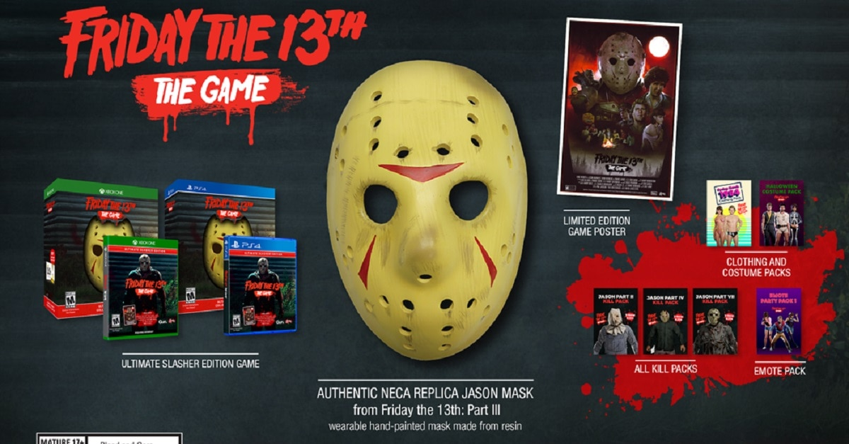 F13 USCE Overview - Must-Own: FRIDAY THE 13TH: THE GAME Ultimate Slasher Collector's Edition