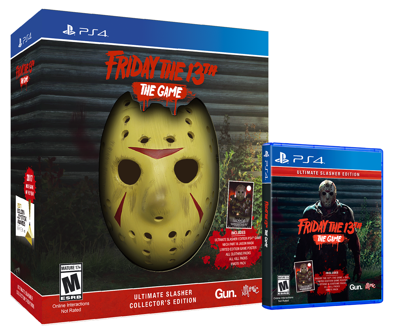 F13 USCE PS4 Group - Must-Own: FRIDAY THE 13TH: THE GAME Ultimate Slasher Collector's Edition