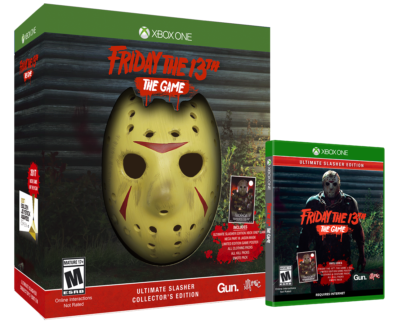 F13 USCE XBO Group - Must-Own: FRIDAY THE 13TH: THE GAME Ultimate Slasher Collector's Edition
