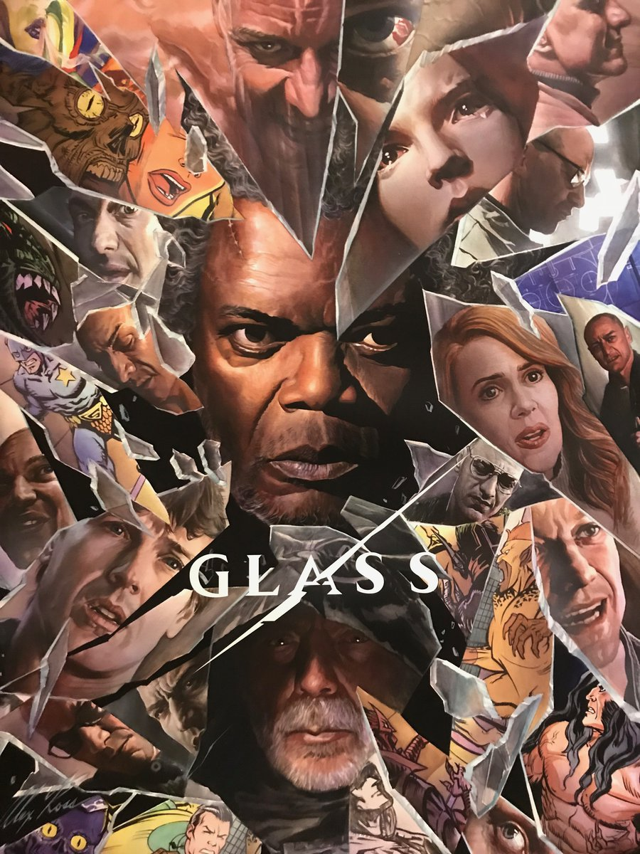 Glass Poster - Does Creepy International Trailer for GLASS Suggest Casey Cooke Will Be a Villain?
