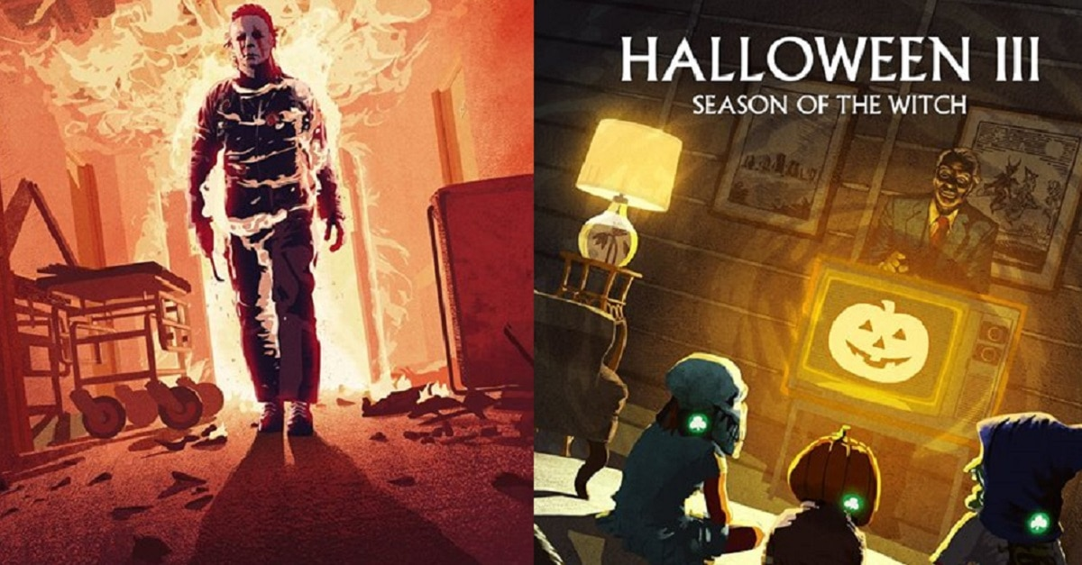 Halloween steelbooks fi - Scream Factory Announces HALLOWEEN II & III Steelbooks
