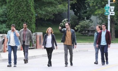 IT TWO Losers Club 400x240 - First Look: Adult Losers Club On-Set of IT: CHAPTER TWO
