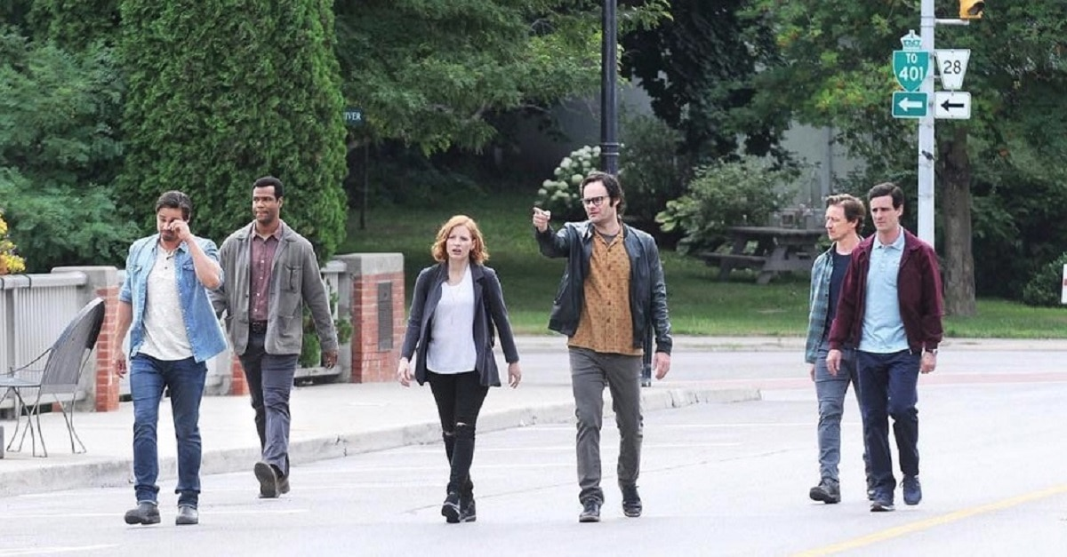 IT TWO Losers Club - First Look: Adult Losers Club On-Set of IT: CHAPTER TWO