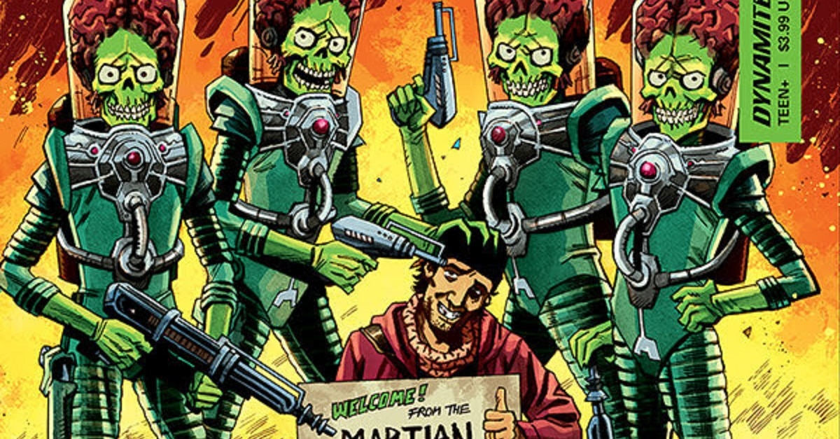 Mars Attacks 2 1 - #SDCC18: MARS ATTACKS! Comics Return This October