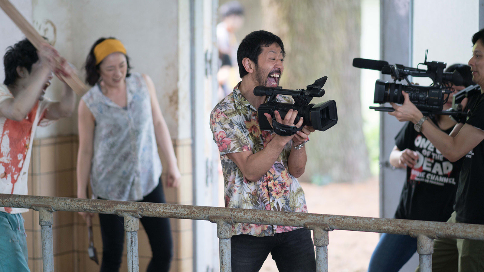 One Cut of the Dead 3 1600x900 c default - Exclusive: ONE CUT OF THE DEAD Stills Are Soaked in Blood