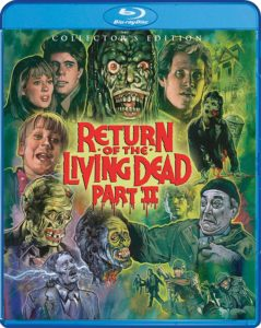 ROTLD2 Blu ray 239x300 - RETURN OF THE LIVING DEAD PART II Collector's Edition Blu-ray Bonus Features Announced!