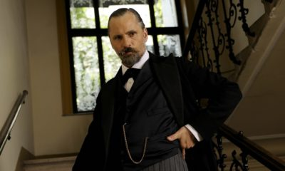 Viggo Mortensen as Freud in David Cronenberg's 'A Dangerous Method'