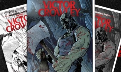 VictorCrowley VHS0 1 1 400x240 - VICTOR CROWLEY Variant VHS Covers Are Here and Going Fast!