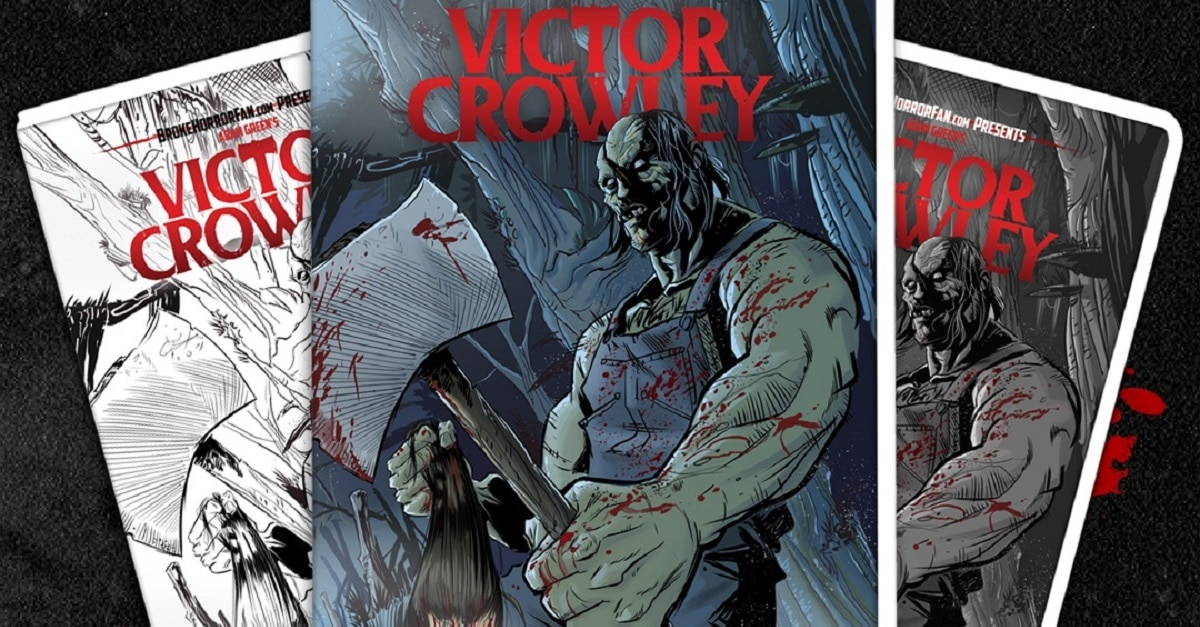 VictorCrowley VHS0 1 1 - VICTOR CROWLEY Variant VHS Covers Are Here and Going Fast!