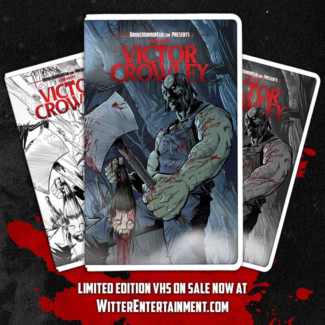 VictorCrowley VHS0 1 - VICTOR CROWLEY Variant VHS Covers Are Here and Going Fast!