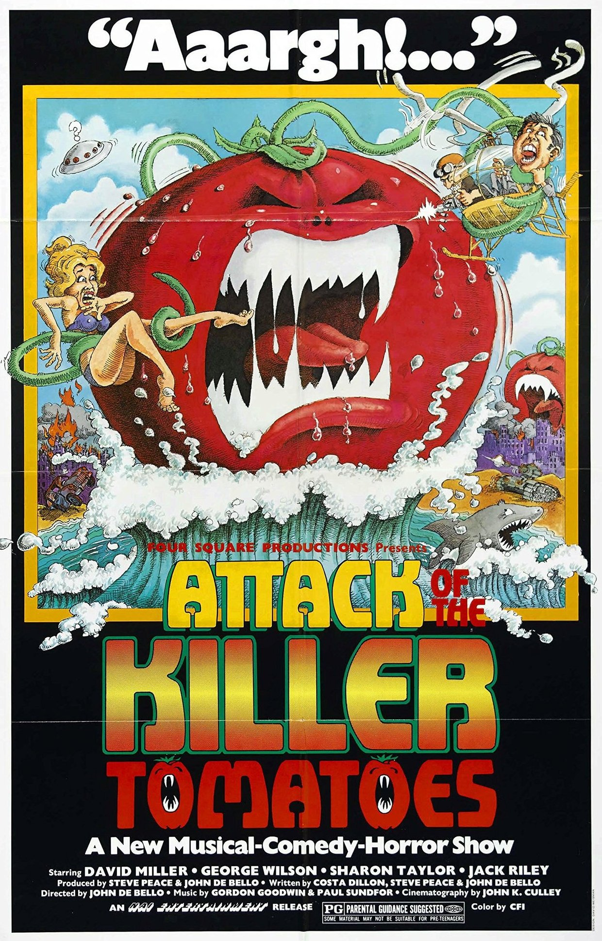 attack of the killer tomatoes - #SDCC18: New ATTACK OF THE KILLER TOMATOES Sows Seeds of Destruction at Comic-Con