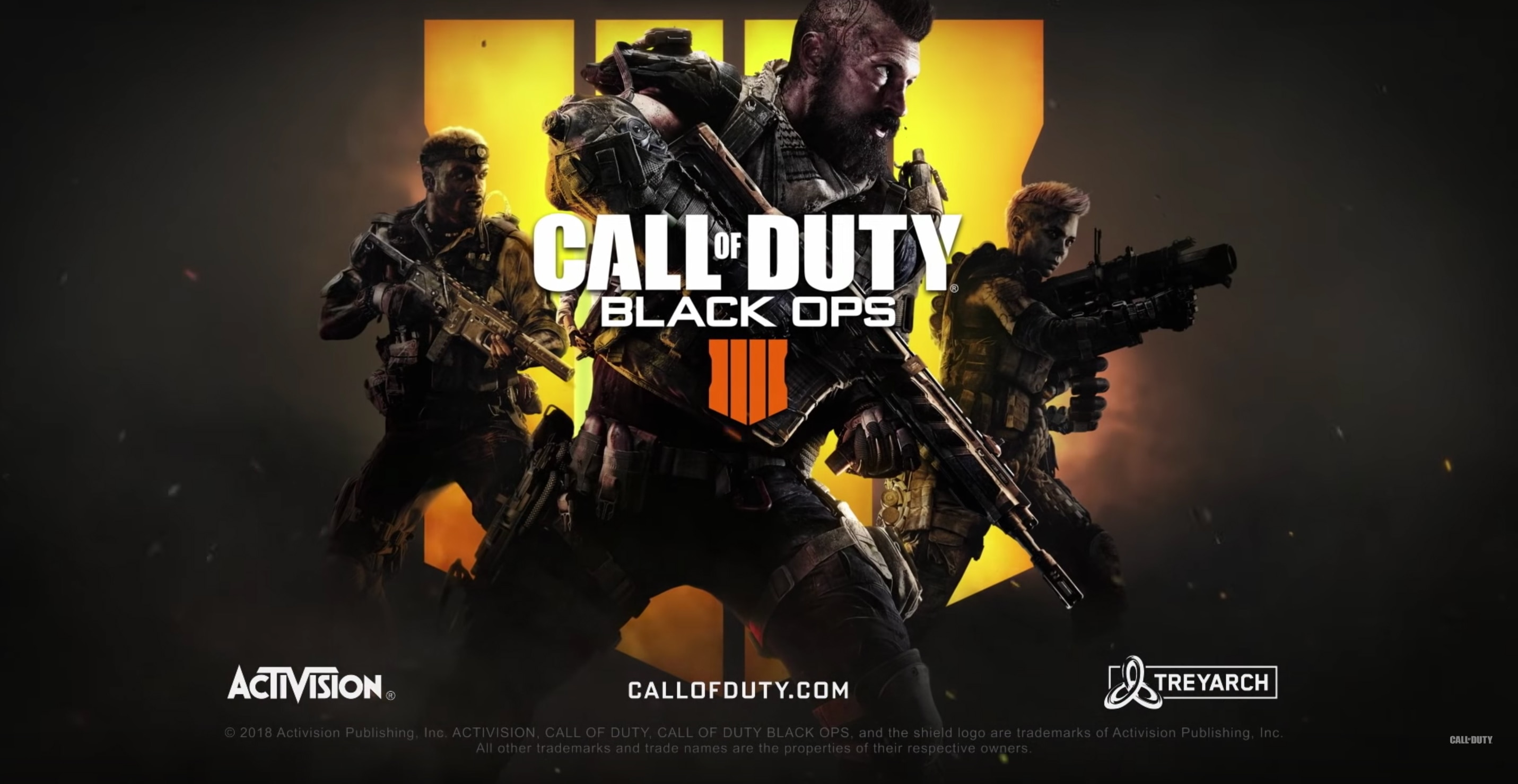 call of duty black ops 4 title - #SDCC18: CALL OF DUTY: BLACK OPS 4 - Zombie Teaser Is ABSOLUTE CHAOS!