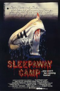 sleepaway camp 199x300 - Drinking With The Dread: Pack Your Bags And Booze For SLEEPAWAY CAMP!
