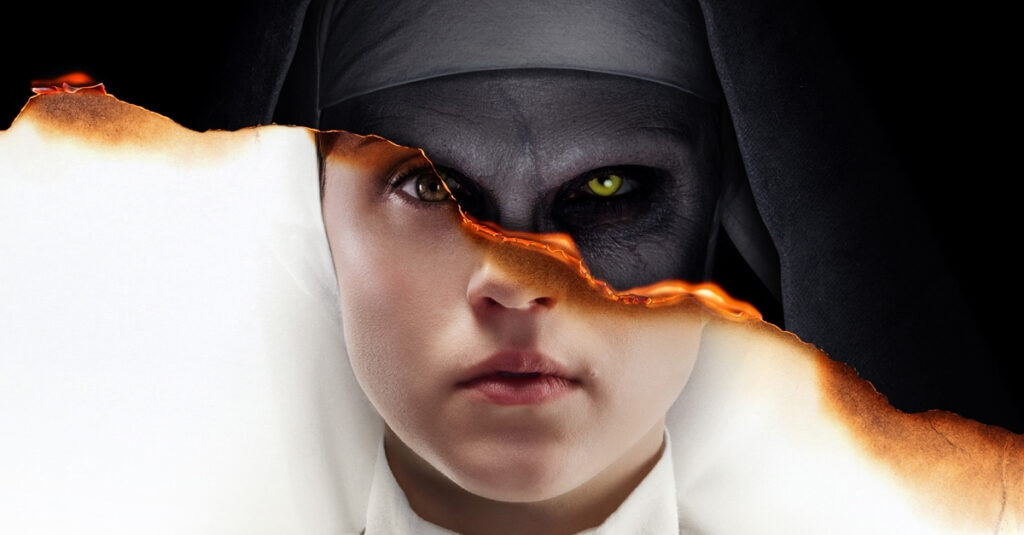 the nun poster s 1024x535 - #SDCC18: Director Corin Hardy Talks THE NUN, Growing THE CONJURING Universe, And Spooky Romanian Monasteries