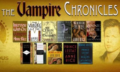 vampire chronicles banner 400x240 - Anne Rice's THE VAMPIRE CHRONICLES Heading to Hulu