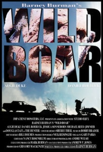 wildboarposter 203x300 - Exclusive: WILD BOAR Trailer Brings Cannibalistic Weirdos