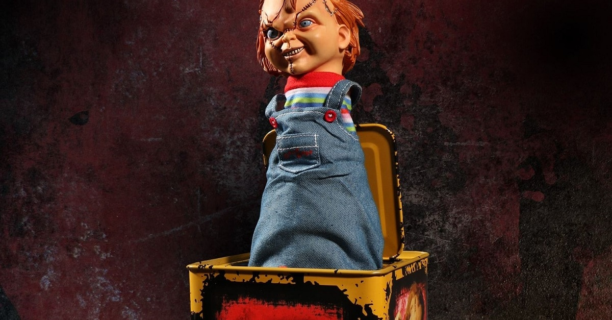 Chuck in the Box 1 1 - Mezco Toys Unveils BRIDE OF CHUCKY Jack-In-The-Box