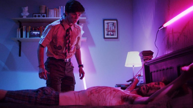 Framed Featured 1 750x422 - Popcorn Frights 2018: FRAMED Review - A Blood-Curdling Cautionary Tale For Social Media Fiends