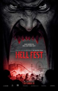 Hell Fest 2018 Poster 190x300 - HELL FEST-Themed Attractions Hit Select Six Flags Locations This Halloween