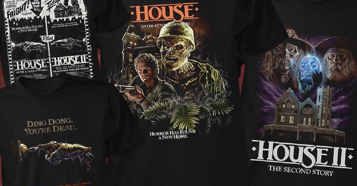 34a1bacb57d Fright Rags  Unveils HOUSE   HOUSE 2 Merch - Dread Central