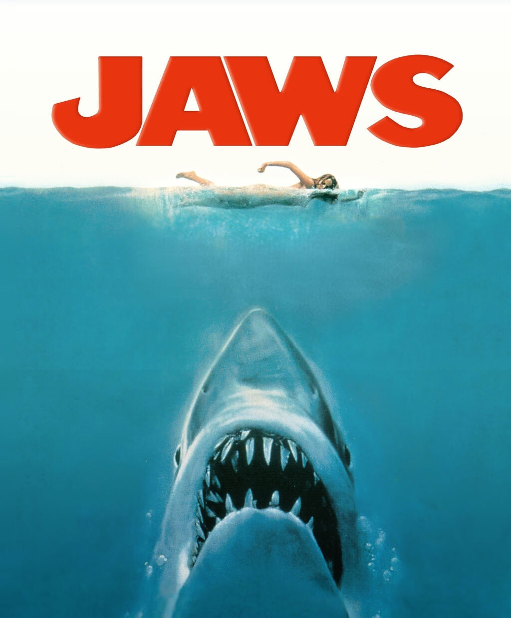 Jaws movie poster 1024x1239 - Steven Spielberg Writing Super Scary Horror Series SPIELBERG'S AFTER DARK