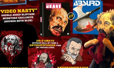 ManEaterBundleweb Copy 400x240 - ANTHROPOPHAGOUS & ABSURD First Time Ever Uncut Blu-Rays Come With Plush Toy!