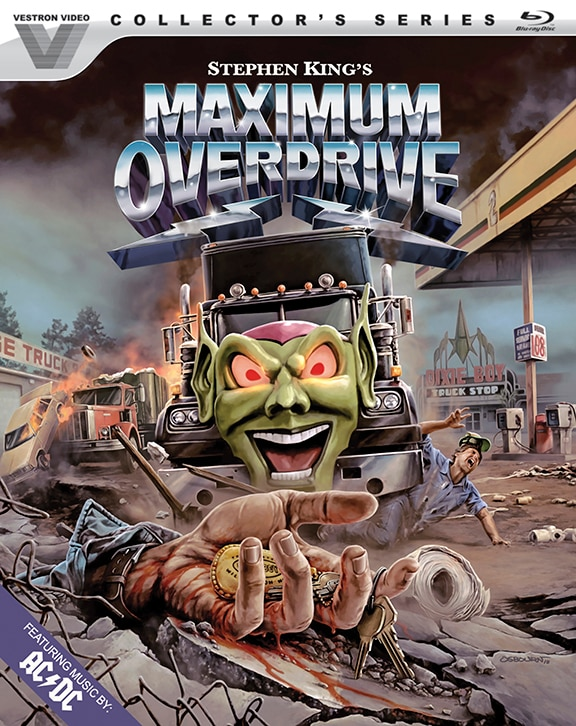 Maximum Overdrive Bluray - This Day in Horror History: Stephen King's MAXIMUM OVERDRIVE Was Released in 1986