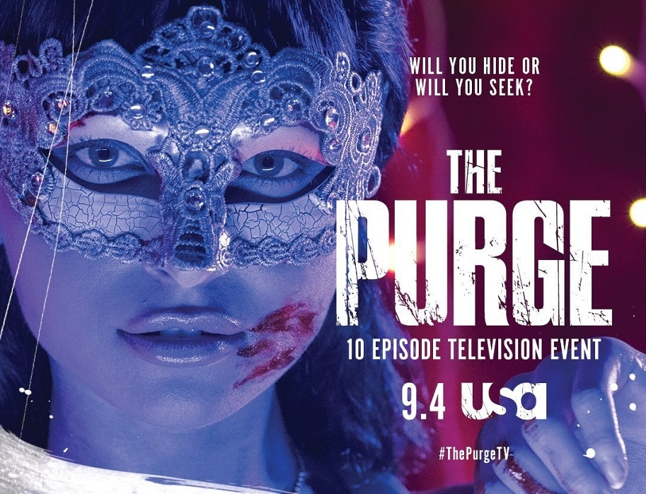 Six Killer PURGE TV Series Posters Are a Riot - Dread Central