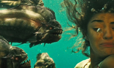 Piranha 3D attack scene 400x240 - Drinking With The Dread: PIRANHA 3D Bites Back!
