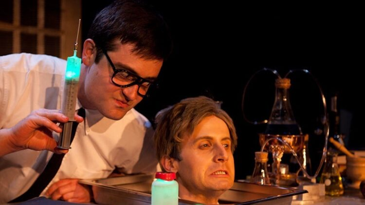 Re Animator by Thomas Hargis 474 750x422 - Mr. Horror Musical Jesse Merlin Savors the Role of Hannibal Lecter in Musical SILENCE!