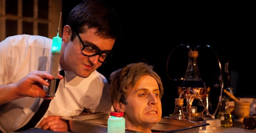 Re Animator by Thomas Hargis 474 - Mr. Horror Musical Jesse Merlin Savors the Role of Hannibal Lecter in Musical SILENCE!