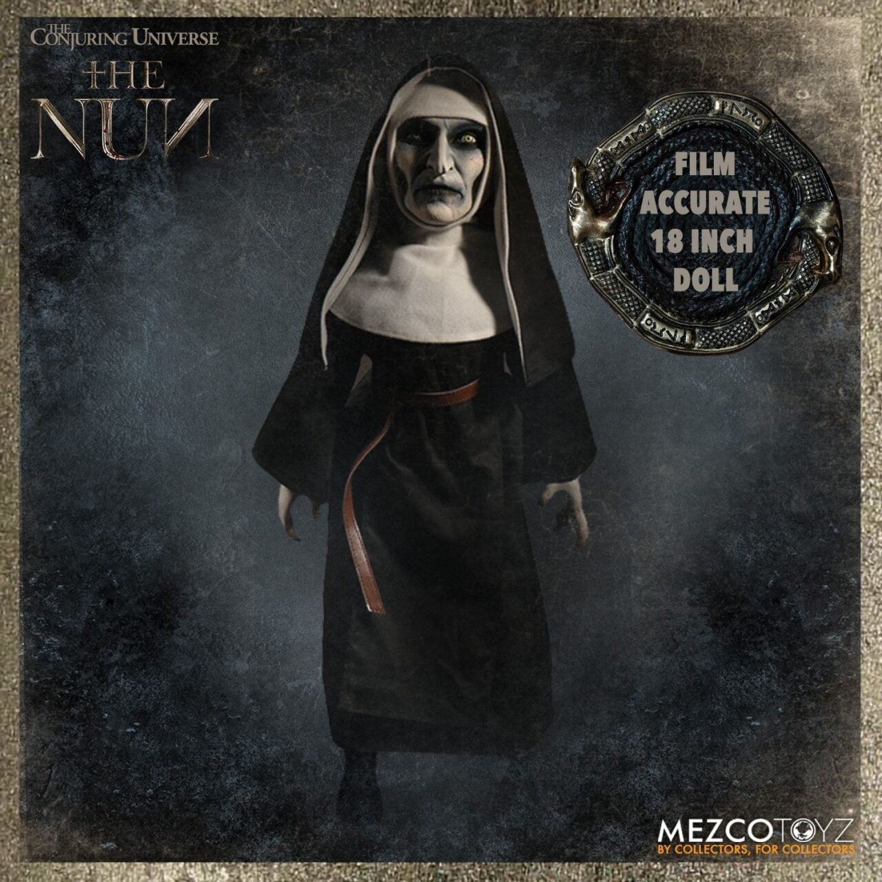 The Nun 2 1 scaled - Mezco's THE NUN Doll May Be Scarier Than the Movie Itself