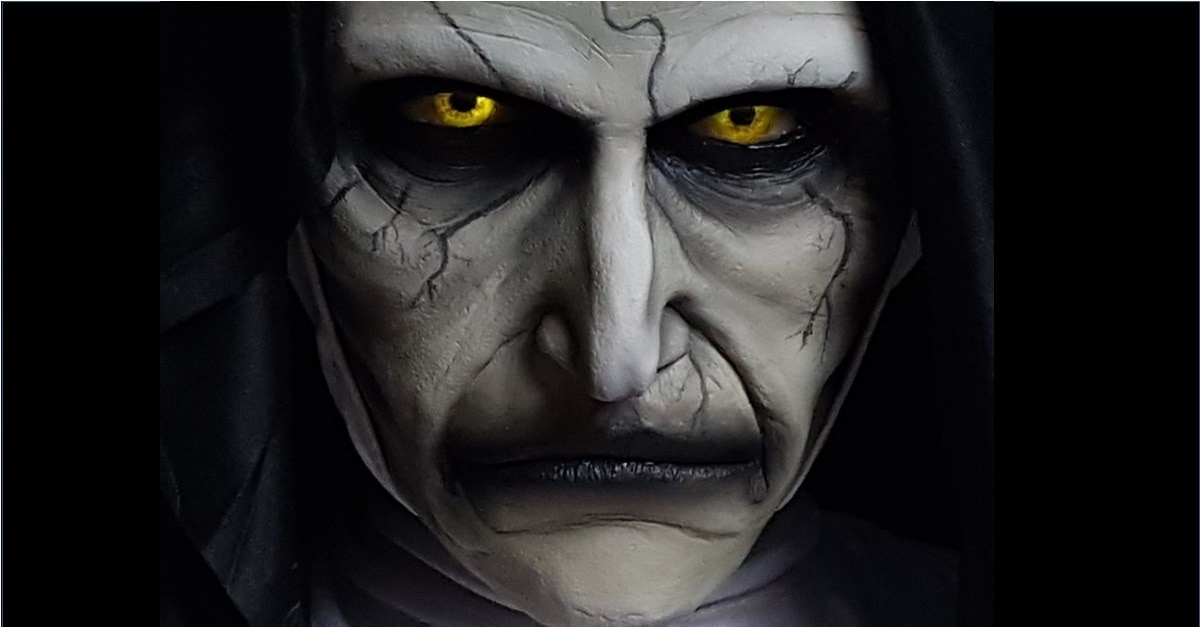 The Nun LoreCraft Bust - LoreCraft Sculptor Brings THE NUN's Valak to Life in Stunning Time-lapse Video