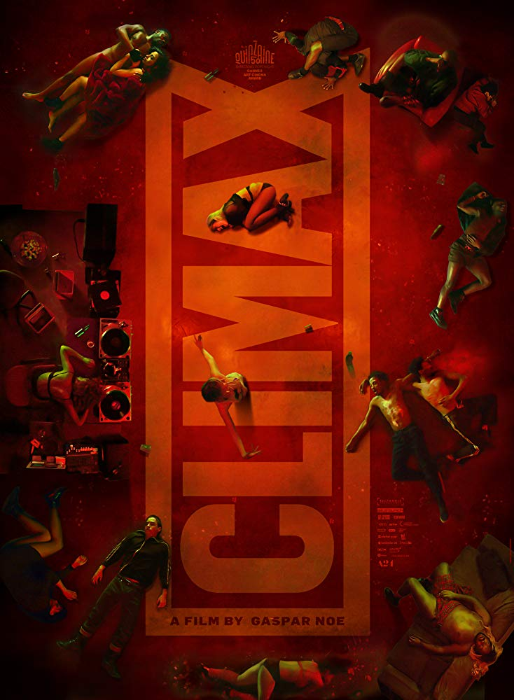climaxposter - Release Date Announced for A24's Hallucinatory Hyper-Sexual CLIMAX