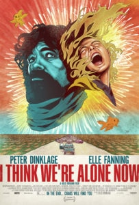 ithinkwerealonenowposter 203x300 - I THINK WE'RE ALONE NOW Gets Stunning Poster