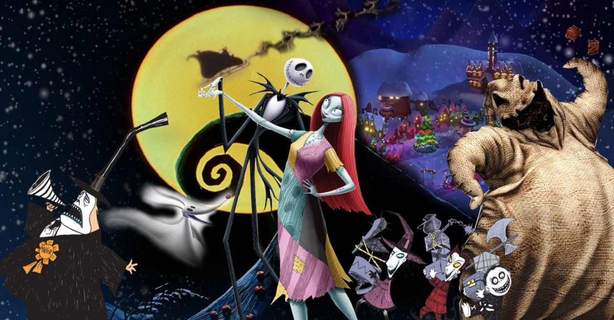 Risultati immagini per the nightmare before christmas