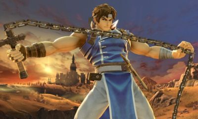 richter castlevania smash bros 1 400x240 - Simon and Richter Belmont Join Super Smash Bros. Ultimate; Watch The Grim Reaper Kill Luigi In The Trailer