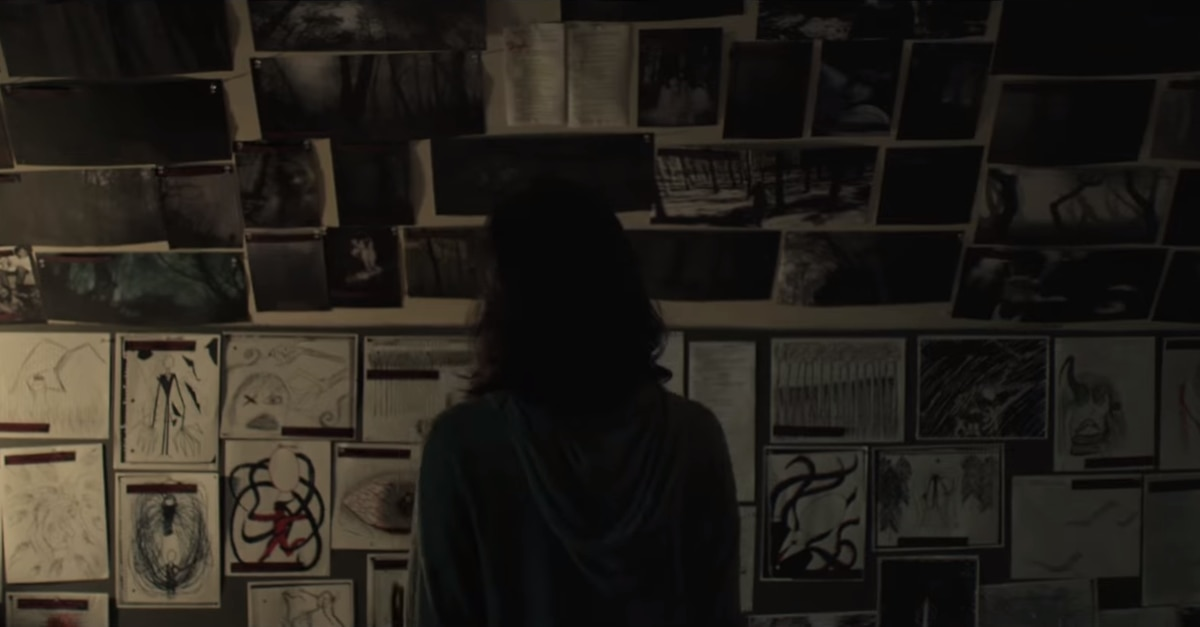 slender man - SLENDER MAN Review - Crunchy Woodland Sound Effects, The Movie!